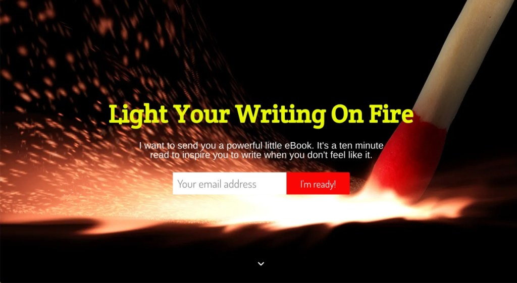 Positive Writer Bryan Hutchinson - mailing list signup