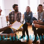 What are the characteristics of writing groups that thrive?