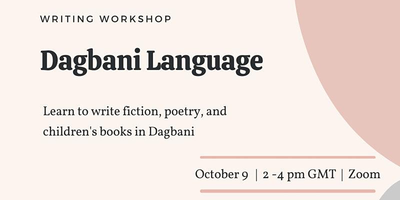 Writing Workshop for Dagbani Writers