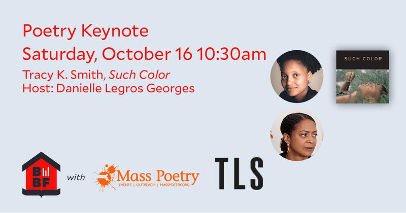 Boston Book Festival: Poetry Keynote