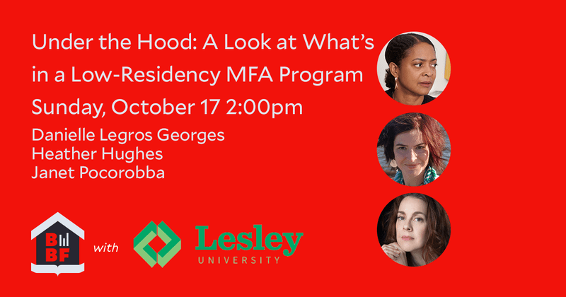 Under the Hood- A Look at What's in a Low-Residency MFA Program-Boston-Book-Festival-2021