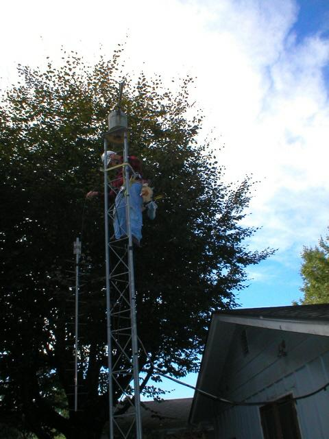 Steve, AI7W on small tower