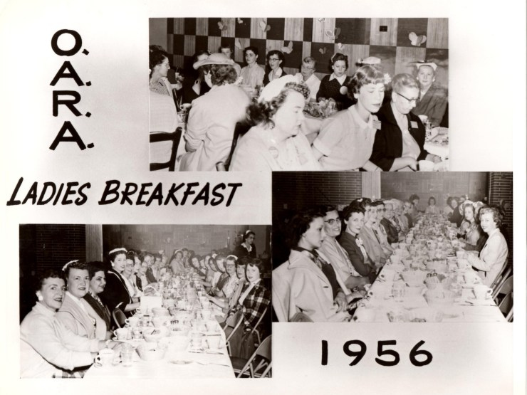 1956 - OARA Ladies Breakfast