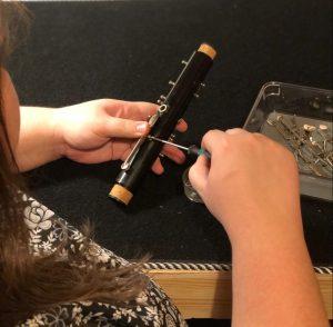 Clarinet Repair Close-up