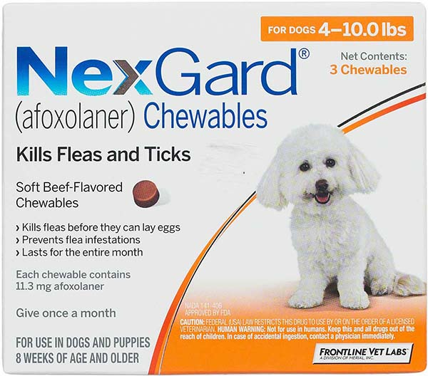 NexGard Chewables For Dogs Merial Pet Pharmacy Rx