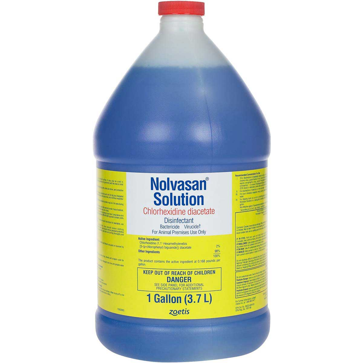 Nolvasan Solution Animal Premise Chlorhexidine Diacetate ...