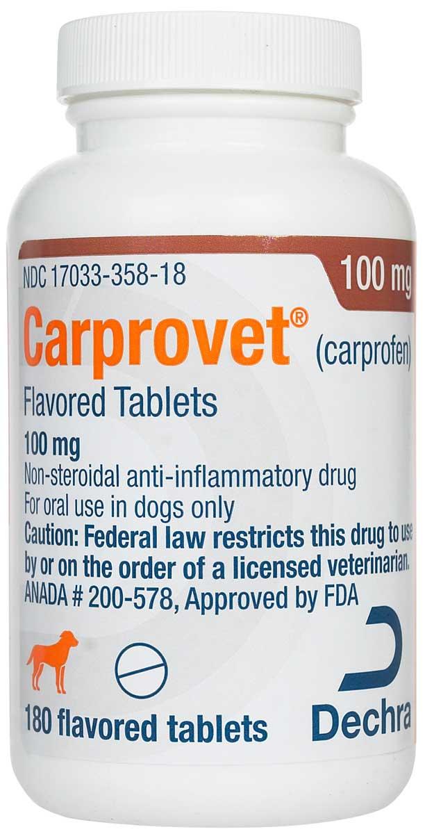 Carprovet Carprofen (compares to Rimadyl) Dechra ...