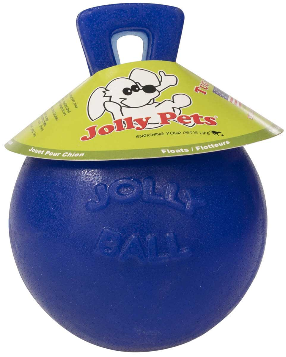 The TugnToss Jolly Ball for Dogs Jolly Pet   Stable