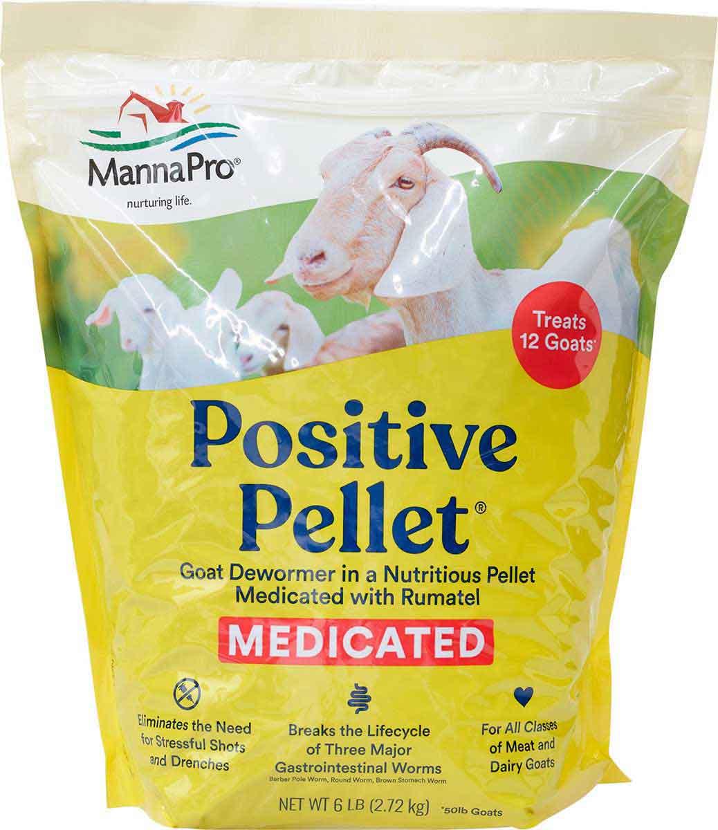 Positive Pellet Goat Dewormer Manna Pro   Goat Sheep