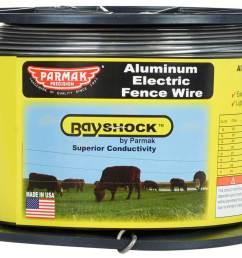 bayshock 12 gauge aluminum electric fence wire 1312 item 45635  [ 1200 x 916 Pixel ]