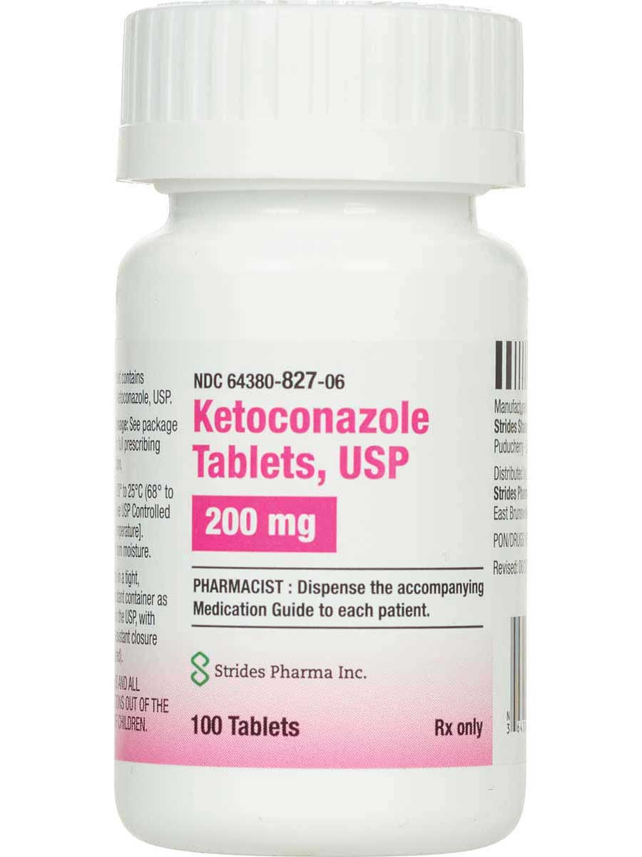 Ketoconazole for Dogs 200 mg 100 ct - Item # 603RX