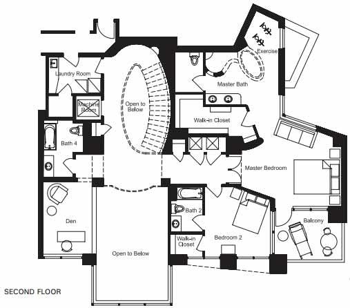 Floor plan image for Tempe Town Lake Condos at Bridgeview