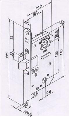 Automaatti: Abloy 4180