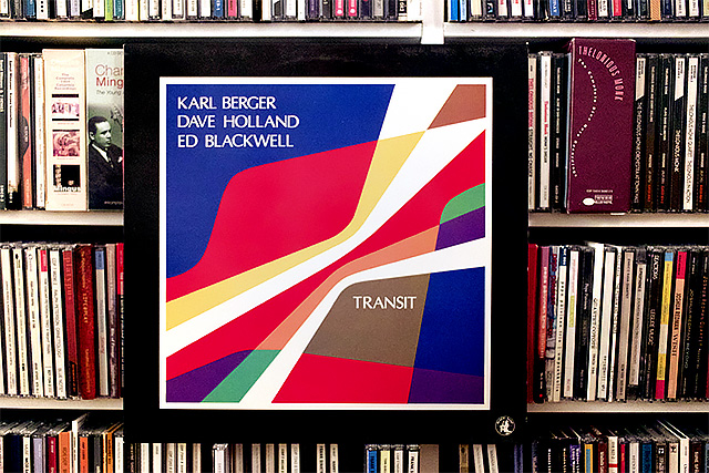 Karl Berger/Dave Holland/Ed Blackwell: Transit  (Black Saint, 1987)