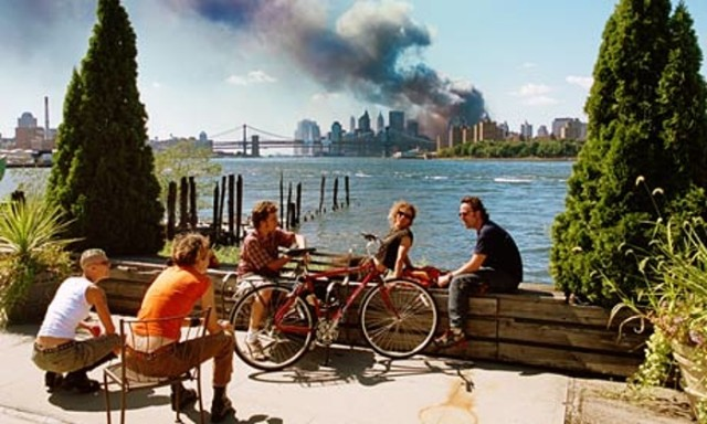 Kuva: Thomas Hoepker. USA. Brooklyn, New York. September 11, 2001.
