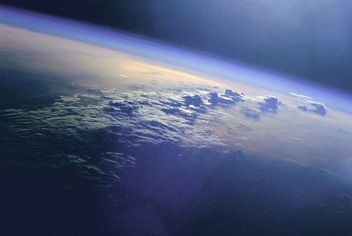 vista espacial de la Tierra