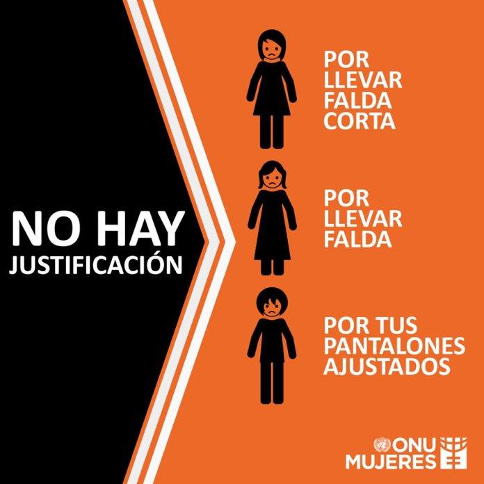No hay justificación, violencia mujeres