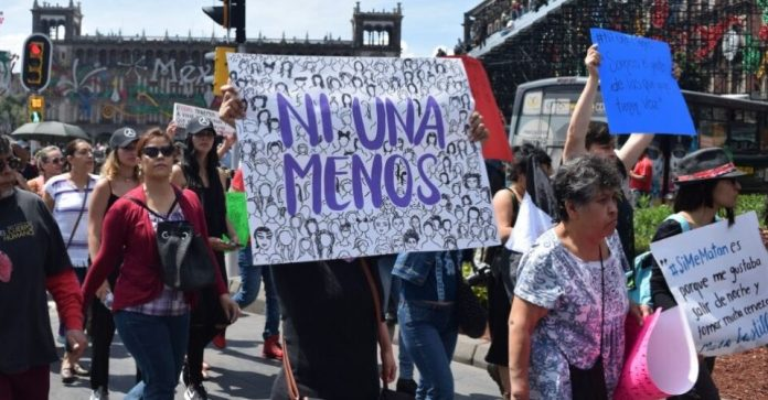 marcha 8m mujeres