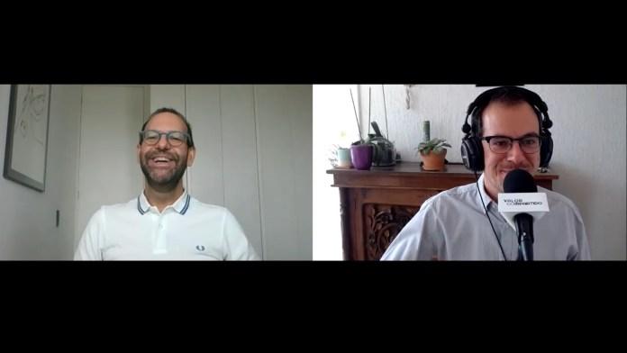 Óscar Díez, Indra, entrevista podcast