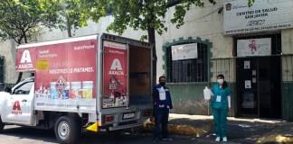Donaciòn de Axalta en México por coronavirus