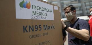 Caja de donación de Iberdrola