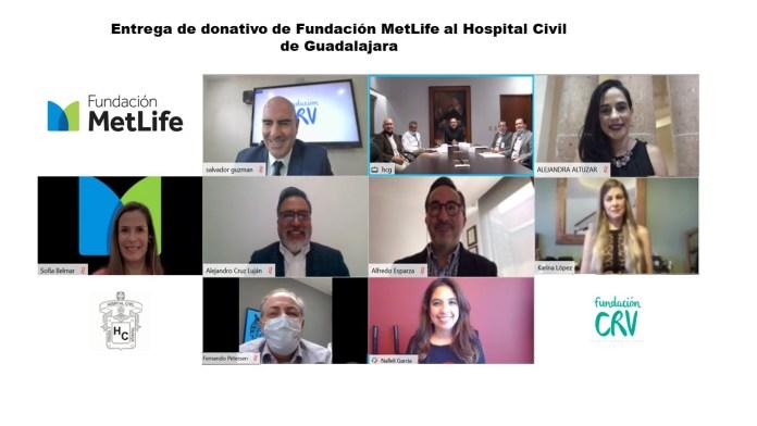 Fundación MetLife México hace donativo a Hospital de Guadalajara