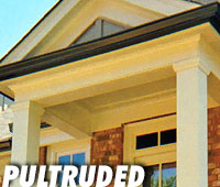 Valor Specialty Products - Round Tapered Fiberglass Columns