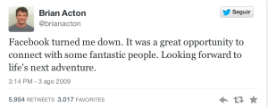 Brian Acton - Facebook