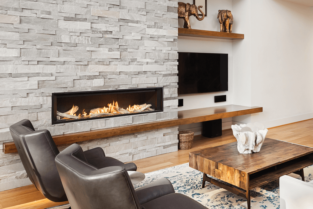 L3 Linear Fireplace