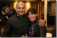 Enrique Gaete y Susana Vilicic