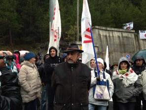 Il leader No Tav Perino