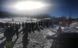 Foto degli sciatori da Facebook