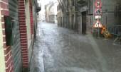 strade allagate