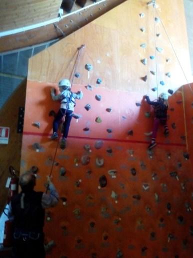 muro per arrampicata - bardonecchia