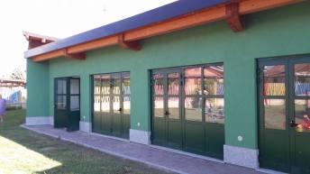 nuova aula scuola materna - rosta
