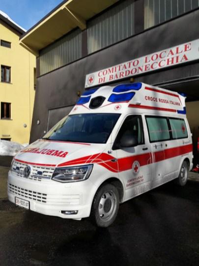ambulanza bardonecchia nuova