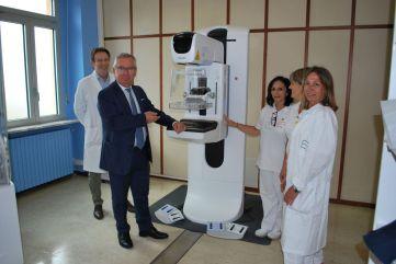 Nuovo mammografo Rivoli