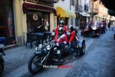 babbi natale in moto susa