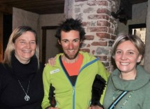 Matteo Eydallin con Chiara Rossetti, vicesindaco e Piera Marchello, assessore alle Politiche Sociali_Foto Gian Spagnolo