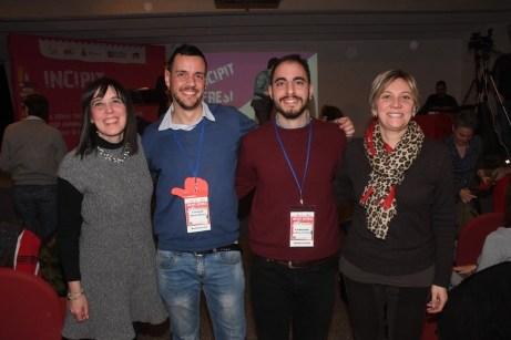 Carola Scanavino e Chiara Rossetti, con il primo (sinistra) e con il secondo (destra) classificato (Foto Gian Spagnolo)
