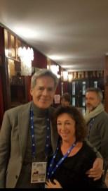 Cristina Noris e Claudio Baglioni