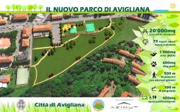 progetto nuovo parco avigliana area riva
