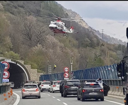 Incidente Autostrada Exilles