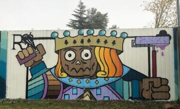 Caselette-Terzo Calssificato_murales viale Sant'Abaco