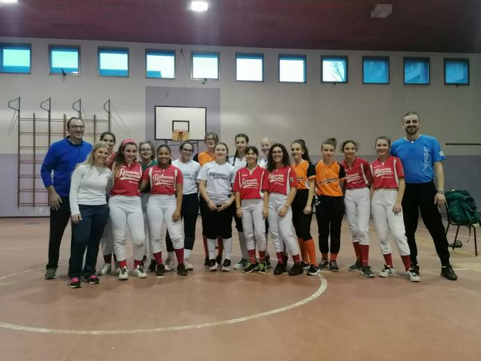 try out softball piemonte
