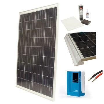 Aurinkopaneelipaketti 100 W - spoilerikiinnikkeet