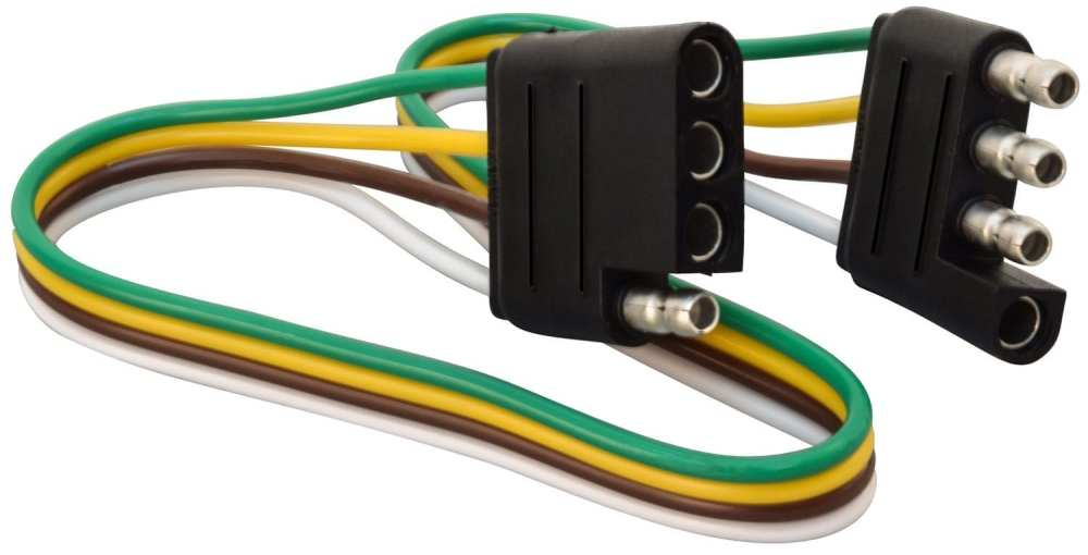 medium resolution of mighty cord 4 way harness car trailer end 1 bulk