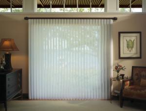 sliding glass door vertical window