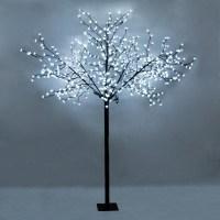 LARGE 2.5m Indoor Outdoor Bonsai Tree Floor Lamp 600 Cool ...