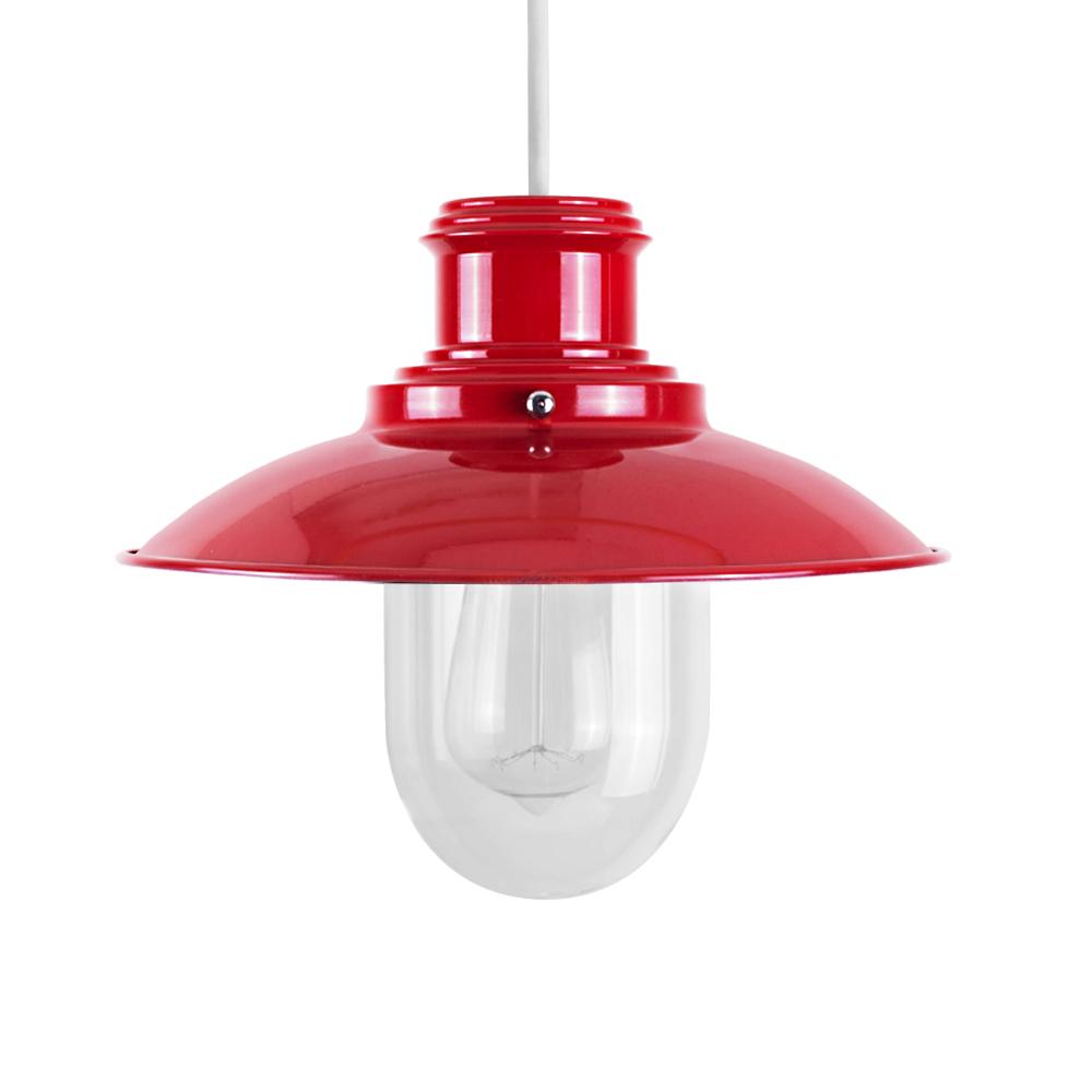 Red Pendant Light Shade
